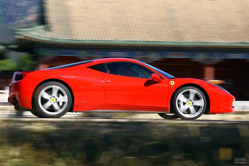 法拉利 458 实拍 评测 图片
