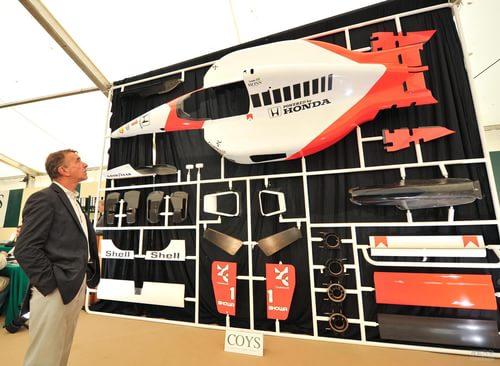 塞纳的冠赛车模型雕塑 将在纽伯格林拍卖