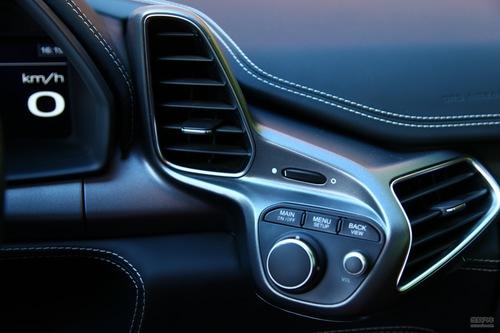 法拉利 458 实拍 内饰 图片