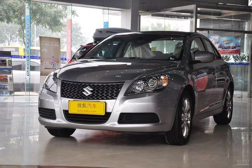 2012款铃木凯泽西 2.4L两驱CVT标准版