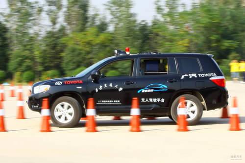 中国智能车未来挑战赛 无人驾驶成为现实高清图片