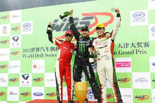 2012天津WDS国际飘移大奖赛精彩内容总结