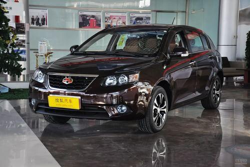 2013款吉利帝豪EC7-RV 1.5L手动尊贵型