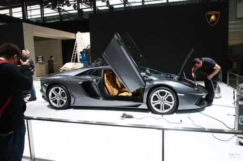 兰博基尼Aventador LP700-4 上海车展探营