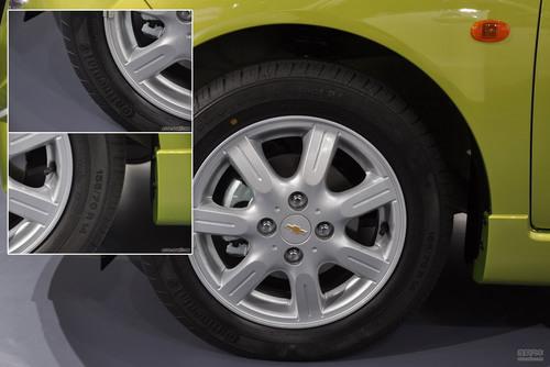 雪佛兰 斯帕可 实拍 底盘/动力 微型车 5万元 首发车 即将上市 图片