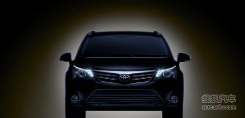 2012款丰田Avensis亮相 法兰克福车发布
