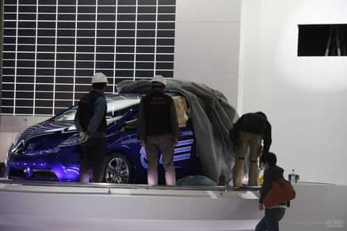 本田飞度EV 2011上海车展探营实拍