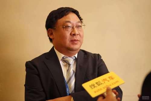 采访奇瑞汽车副总经理 陆建辉