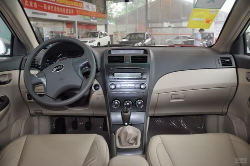 2012款比亚迪L3 1.5L手动舒适型到店实拍