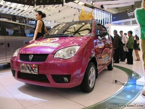 2009上海车展哈飞路宝节油π实拍