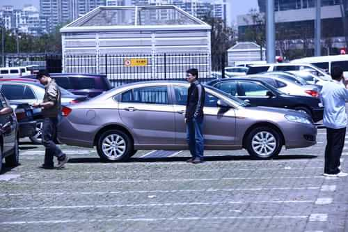 奇瑞新一代东方之子 2011上海车展探营实拍