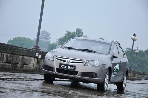 长安CX30试驾1.6L手动STT版