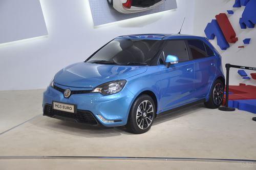 MG3 EURO上海车展实拍