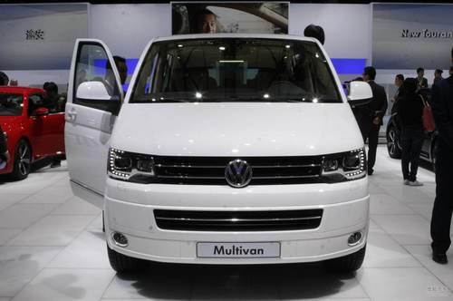 大众Multivan上海车展实拍