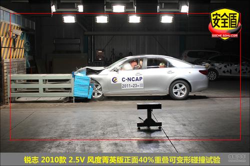 主要考验车辆的车身结构和约束系统