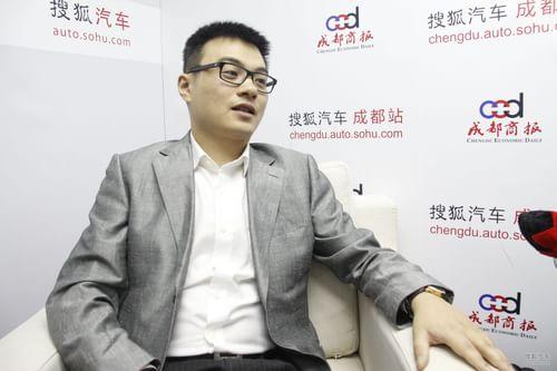 搜狐汽车专访物产元通总经理 张飚