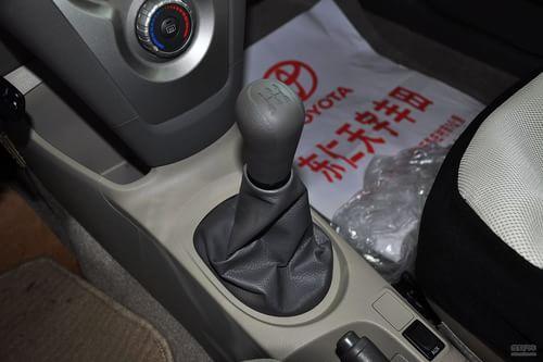 丰田 威驰 实拍 内饰 图片