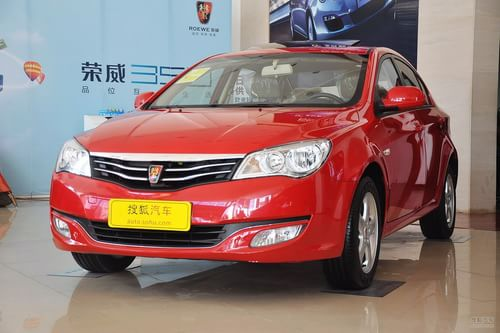 2011款荣威350 1.5L自动新禧超值版到店实拍