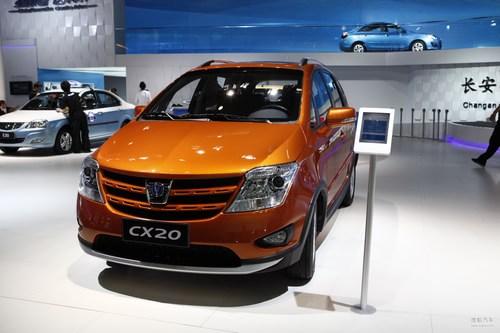 长安CX20 北京车展实拍