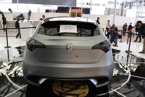 MG5概念车 2011上海车展探营实拍