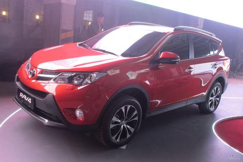 一汽丰田全新RAV4 上海车展实拍