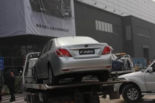 比亚迪F3速锐 2012北京车展探营实拍