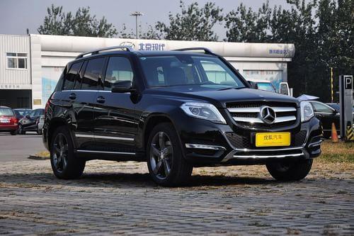 2013款奔驰GLK300 4MATIC豪华型到店实拍