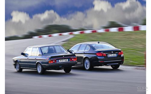 两代宝马535i对比测试