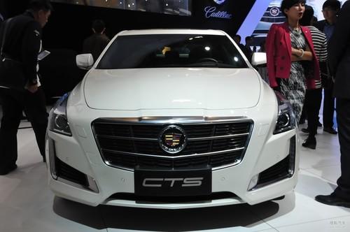 全新凯迪拉克CTS 北京车展实拍
