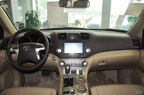 2013款丰田汉兰达2.7l两驱7座紫金版高清图片