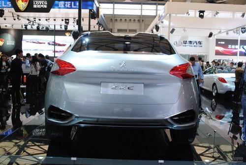 标致SXC概念车上海车展实拍