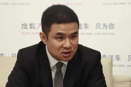 路虎中国执行副总裁 胡波