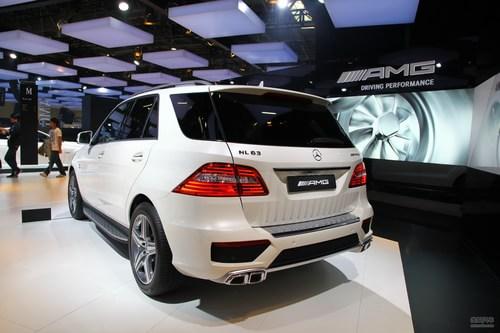 奔驰ML63 AMG 北京车展实拍