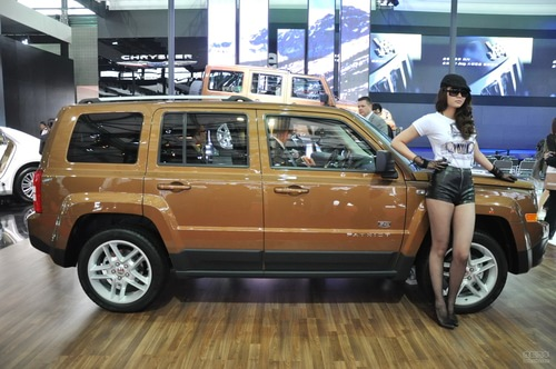 jeep吉普自由客 上海车展实拍