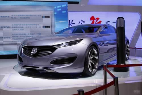长安FNF概念车 上海车展实拍
