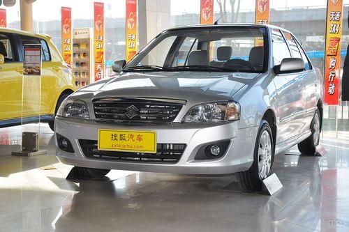 2012款铃木羚羊1.3L手动舒适型