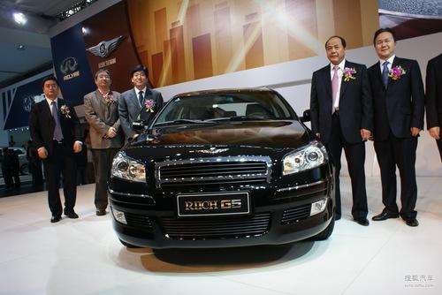 [2010广州车展]奇瑞展台活动实拍:瑞麒G5