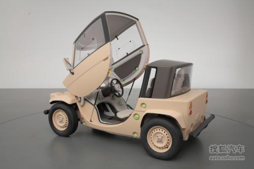 丰田Camatte概念车 专门为儿童驾驶打造