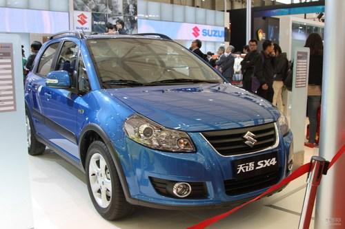 2011款天语SX4两厢上海车展实拍