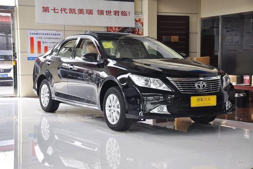 2013款丰田凯美瑞2.5G舒适版