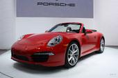 全新保时捷911 Carrera敞篷版北美车展实拍,2012北美车展