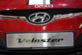 现代Velaster上海车展实拍