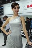 奇瑞2号车模 2012北京车展实拍