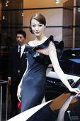 迈巴赫车模上海车展实拍
