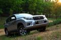 丰田普拉多2.7L进口版试驾   外观