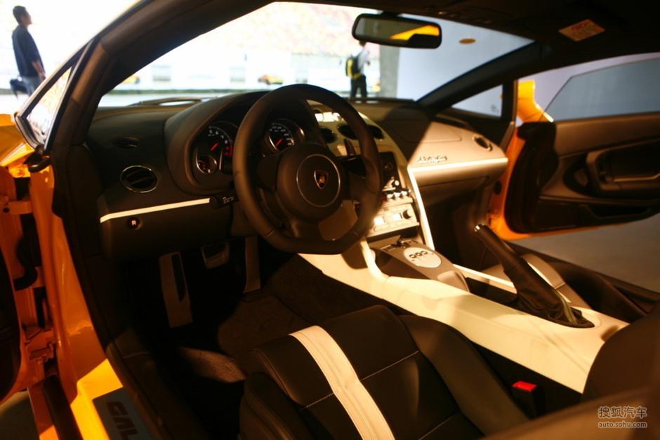 搜狐汽车汽车图库兰博基尼兰博基尼盖拉多组图2009款盖拉高清图片
