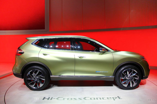 日产Hi-Cross概念车日内瓦车展实拍