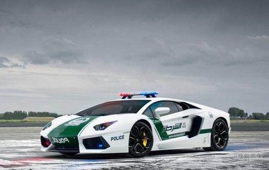 迪拜兰博基尼_最烧钱的执法工具 看看迪拜的超跑警车们-搜狐汽车