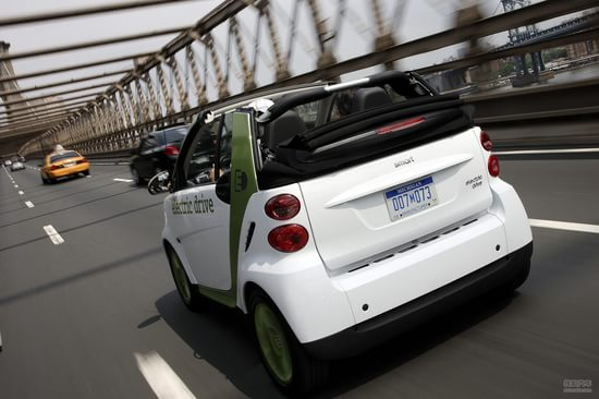 smart fortwo-cabrio 实拍 评测 图片