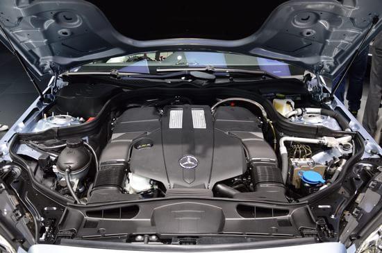奔驰 E级长轴距 实拍 底盘/动力 图片